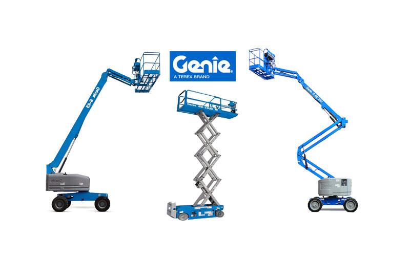 Genie có nhiều mẫu thiết kế đa dạng