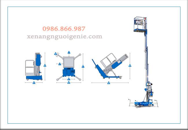 Thiết bị nâng người – Aerial Work Platforms