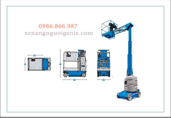 Thiết bị nâng người – Vertical Mast Lifts