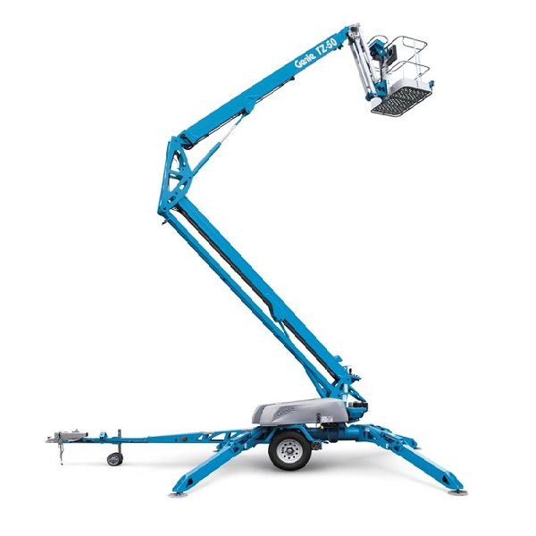Trailer-Mounted Boom Lifts