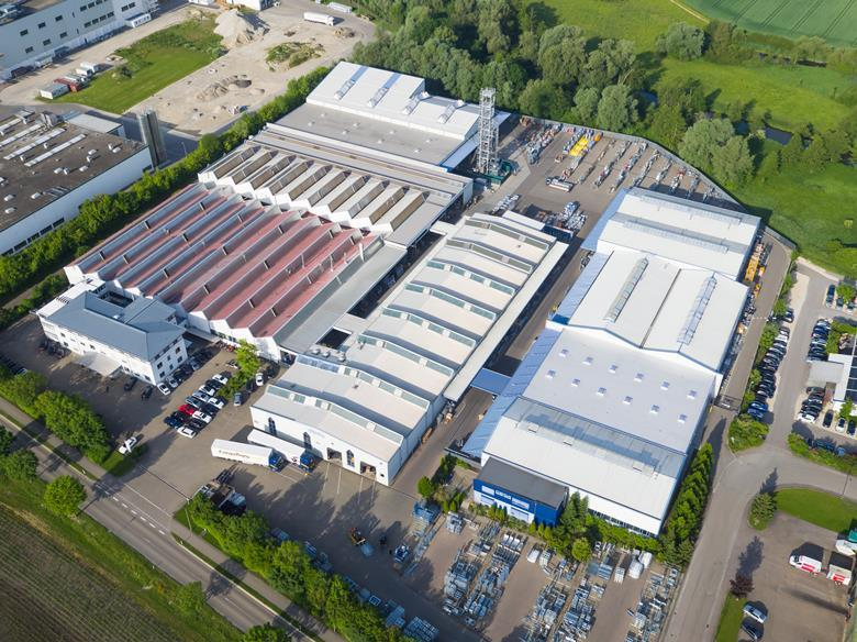 Trụ sở chính Geda tại Đức