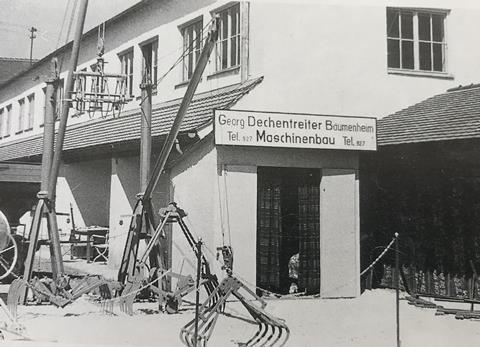 Cơ sở đầu tiên của Geda tại Bavaria