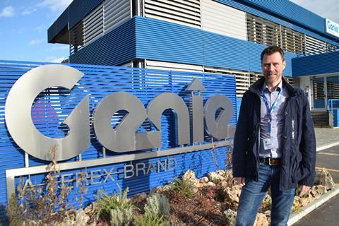 Giám đốc bộ phận bán hàng của Genie đến Thụy Điển và Na Uy
